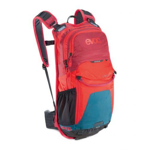 Plecak EVOC STAGE 12L PETROL/RED/RUBY