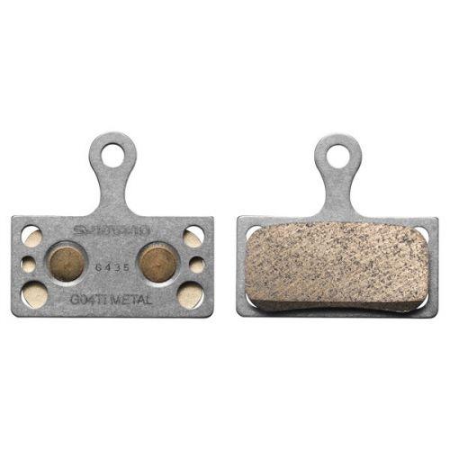 Okładziny hamulca tarczowego Shimano G04Ti Metaliczne