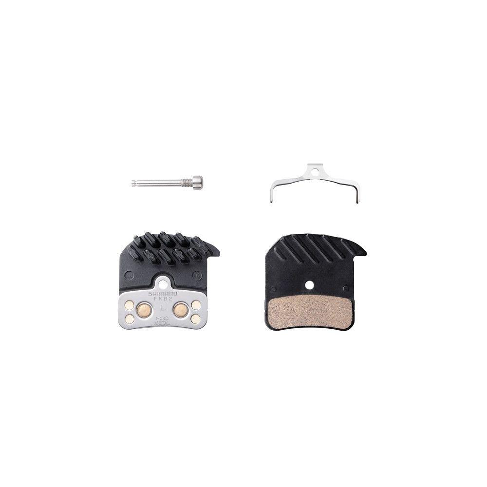 Okładziny hamulca tarczowego Shimano H03C metaliczne/radiator