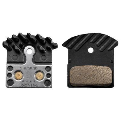 Okładziny hamulca tarczowego Shimano J04C metaliczne/radiator