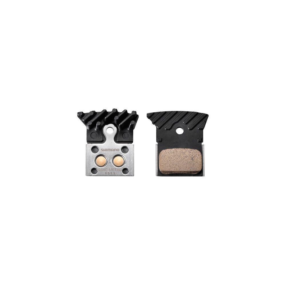 Okładziny hamulca tarczowego Shimano L04C metaliczne/radiator