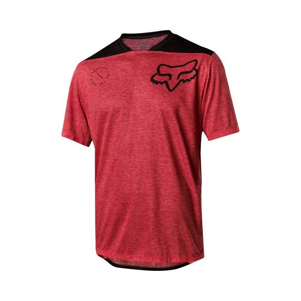 Koszulka Fox INDICATOR ASYM JSY red '18
