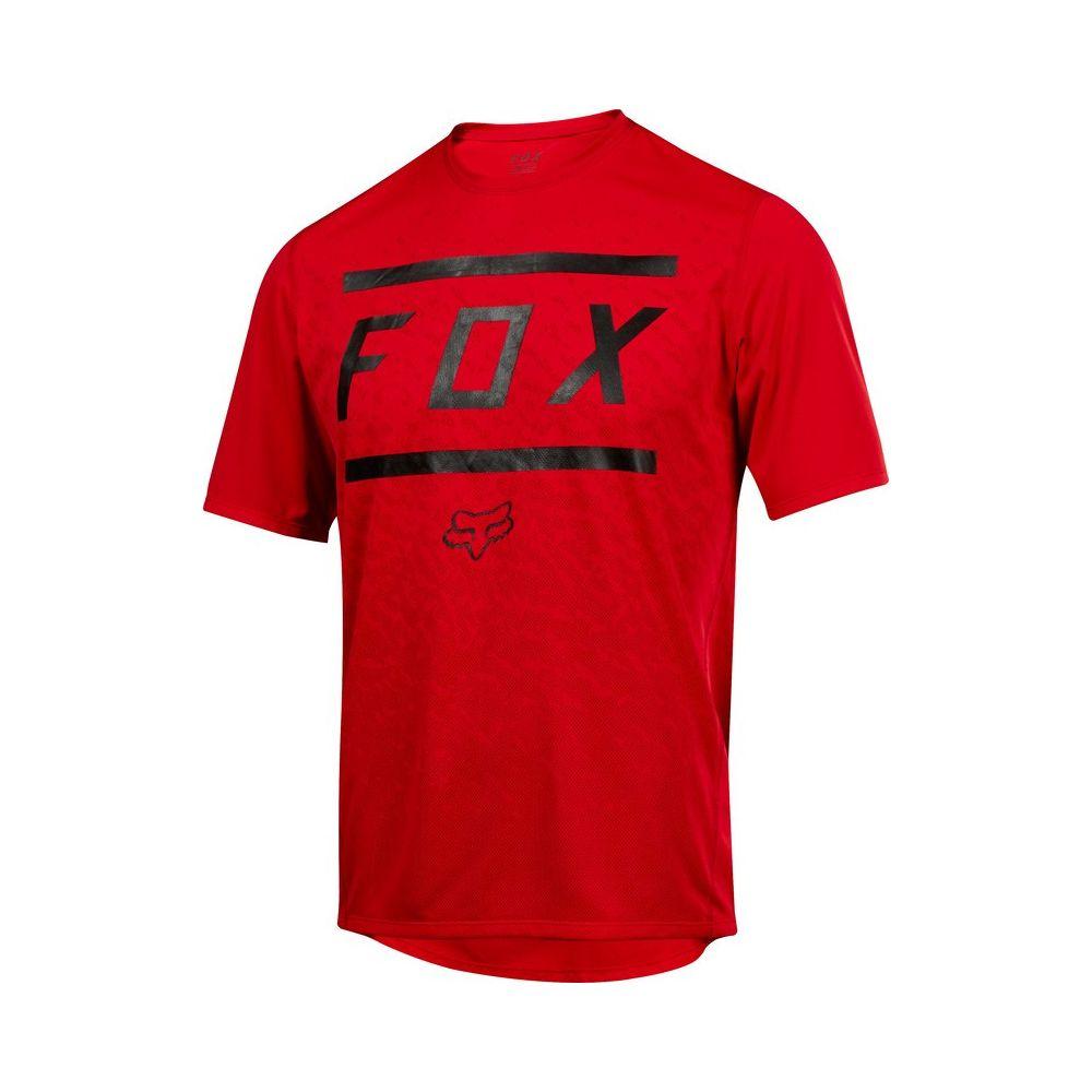 Koszulka Fox RANGER BARS red - XL