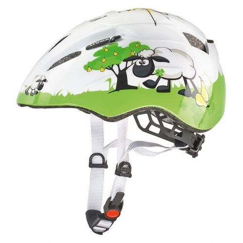 Kask UVEX KID 2 WHITE/GREEN