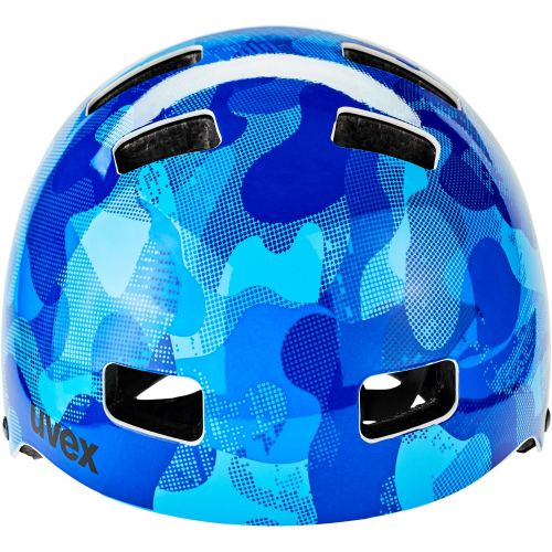 KASK UVEX KID 3 BLUE CAMO 51-55