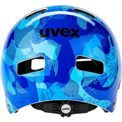 KASK UVEX KID 3 BLUE CAMO 51-55