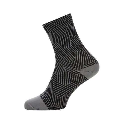 Skarpetki GORE C3 OPTILINE MID SOCKS GRAPH GREY/BLACK 35-37