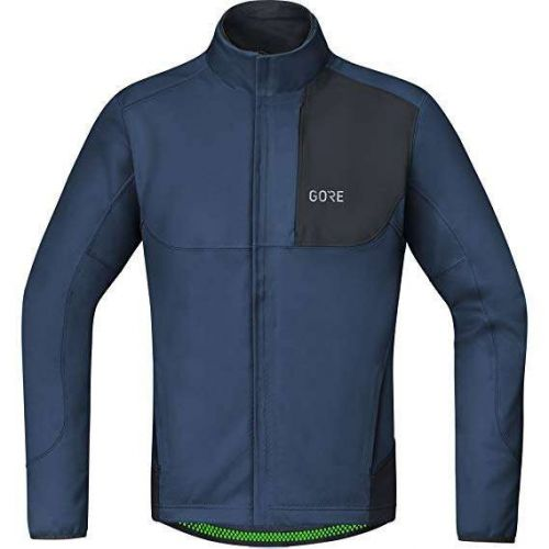 GORE C5 WINDSTOPPER THERMO TRAIL DEEP WAT BL/BK L