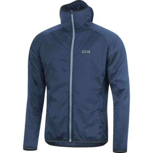 GORE R3 WINDSTOPPER HOODIE DEEP WATER BLUE XL