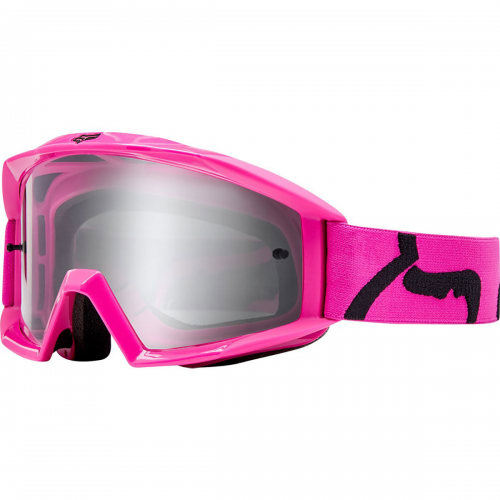 GOGLE FOX MAIN RACE PINK-SZYBA CLEAR  '19