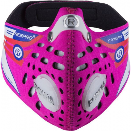 Maska antysmogowa Respro Cinqro Hot Pink - rozmiar L
