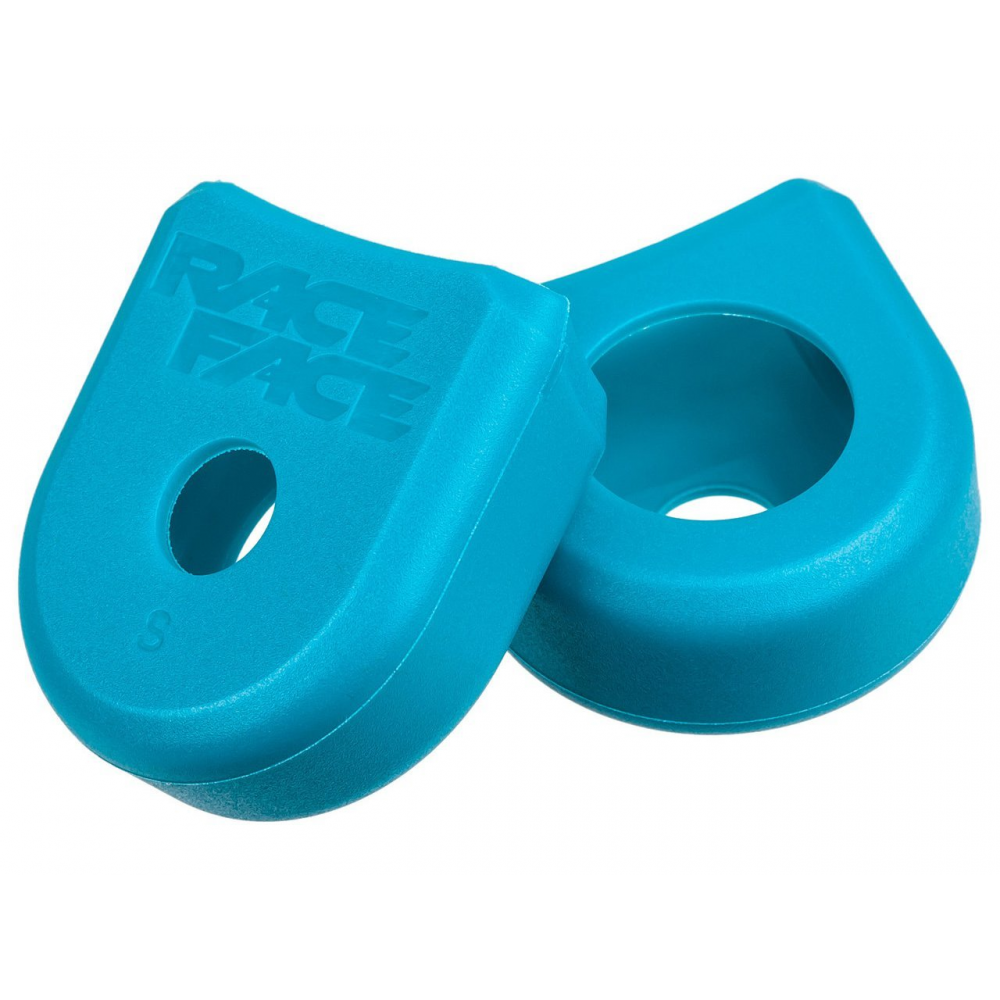 Osłona korby RACE FACE CRANK BOOT 2-PACK M TURQUOISE