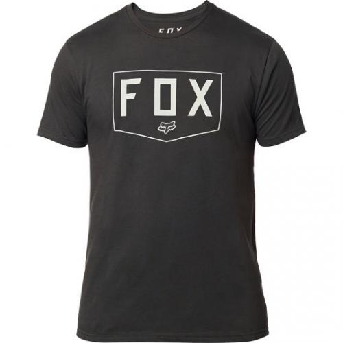 Koszulka T-SHIRT FOX SHIELD PREMIUM BLACK VINTAGE L i XL
