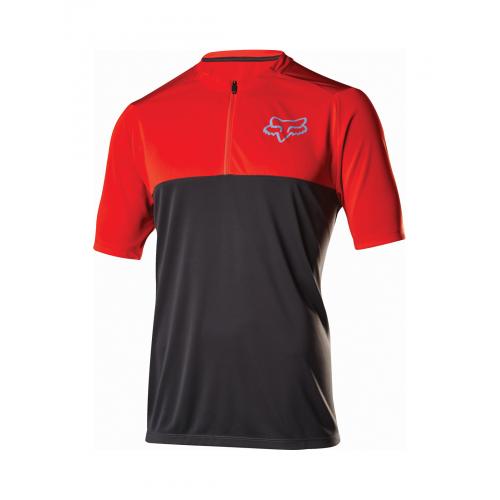 Koszulka FOX ALTITUDE RED/BLACK XL