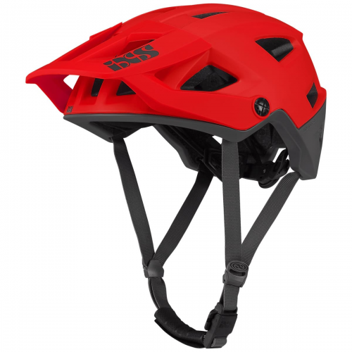 Kask IXS Trigger AM fluo red - rozmiar SM
