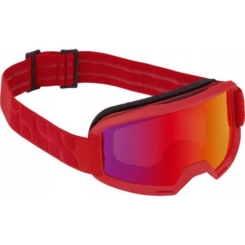 Gogle - IXS Hack racing red / mirror crimson