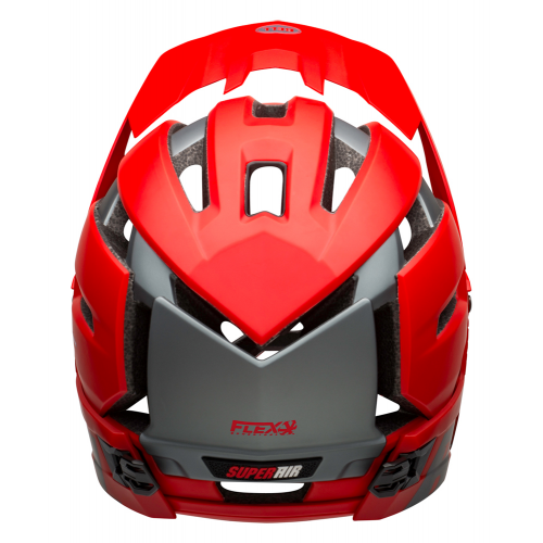KASK FULL FACE BELL SUPER AIR R MIPS SPHERICAL MATTE GLOSS RED GRAY M