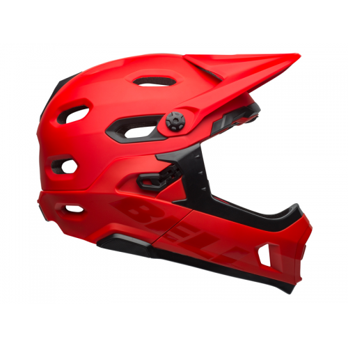 KASK FULL FACE BELL SUPER DH MIPS SPHERI RED/BLK L