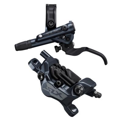 Hamulec hydrauliczny przedni  Shimano SLX M7120 - Metal + Radiat