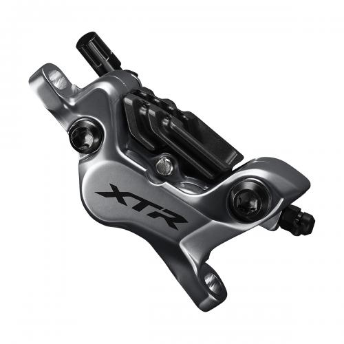 Hamulec hydrauliczny przedni Shimano XTR M9120 - Metal + Radiat