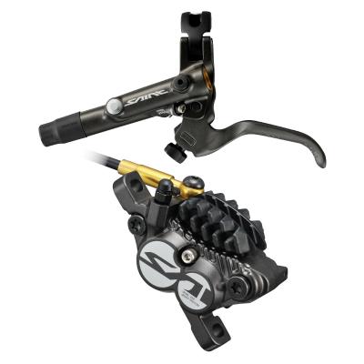 Hamulec hydrauliczny przedni Shimano Saint M820 - Metal + Radiat