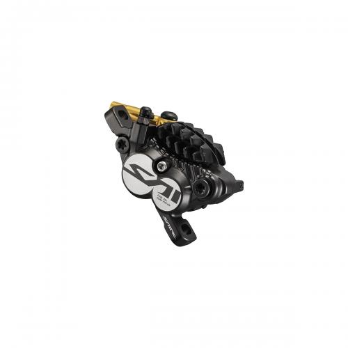 Hamulec hydrauliczny tylny Shimano Saint M820 - Metal + Radiat