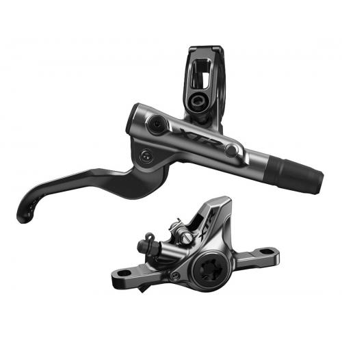 Hamulec hydrauliczny tylny Shimano XTR M9100 - Metal