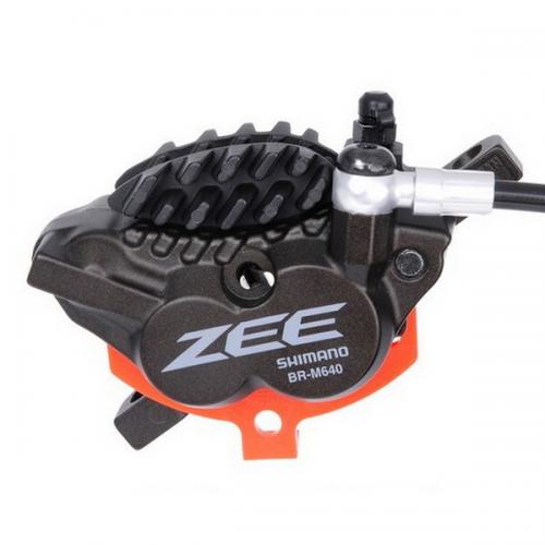 Hamulec hydrauliczny przedni Shimano Zee M640 - Metal + Radiat