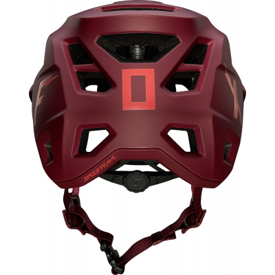 KASK FOX SPEEDFRAME WIRD CHILI RED ENDURO TRAIL L