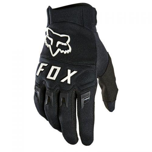 RĘKAWICE FOX DIRTPAW BLACK/WHITE XL '21