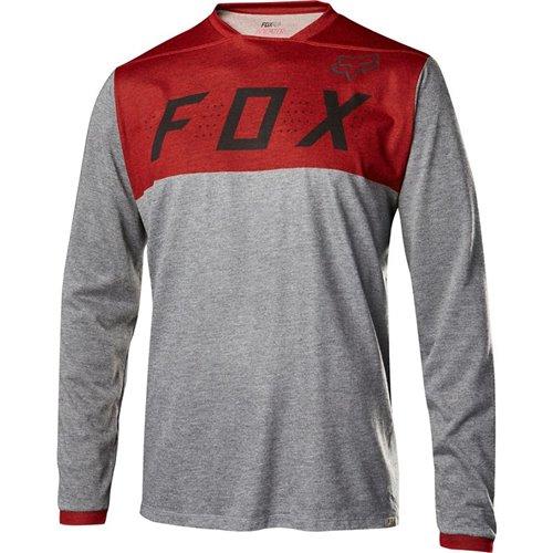 Koszulka FOX INDICATOR HEATHER RED M