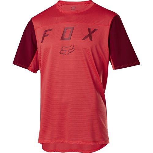 Koszulka FOX FLEXAIR MOTH BRIGHT RED M