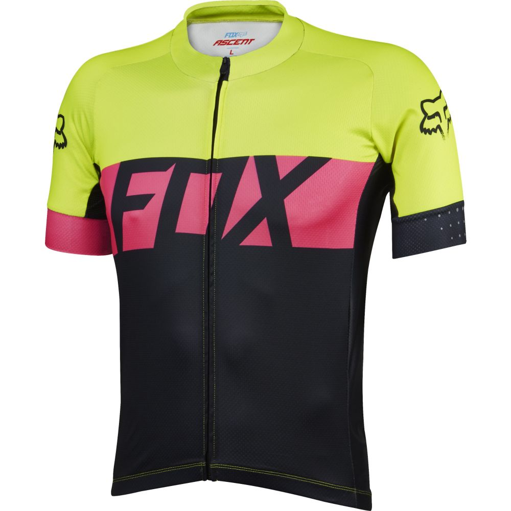 Koszulka FOX ASCENT FLO YELLOW M