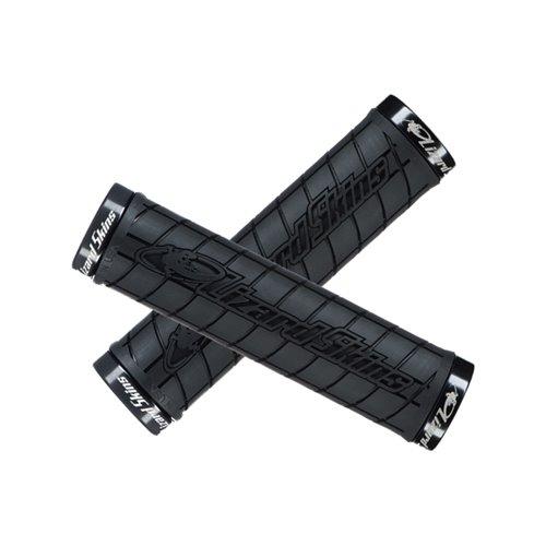 Chwyty kierownicy LIZARDSKINS LOGO LOCK-ON black