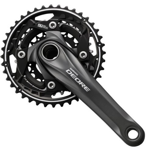 Mechanizm Korbowy SHIMANO Deore 10rz FC-M612 40/30/22 175mm BLACK