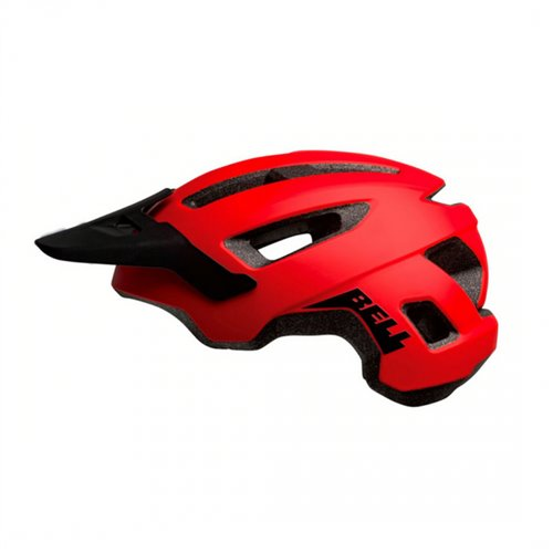 KASK BELL NOMAD matte red black 53-60cm