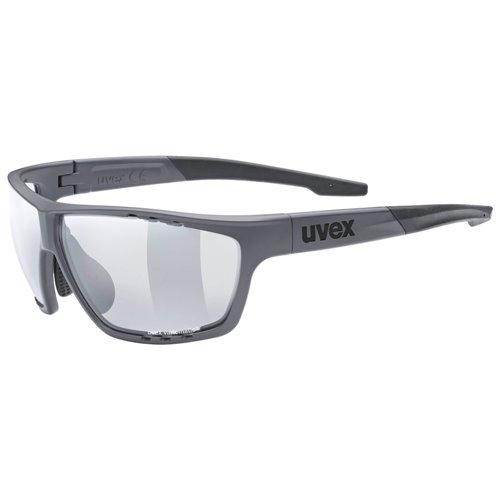 Okulary Uvex sportstyle 706 Vario dark grey mat