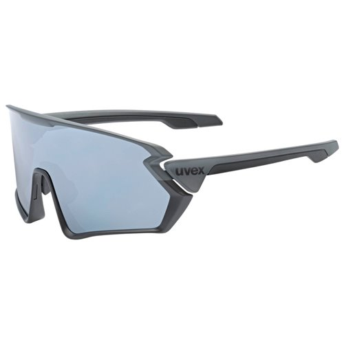 Okulary Uvex Sportstyle 231 grey- black mat/silver