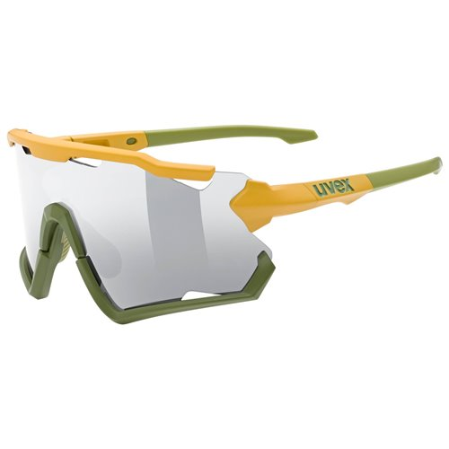 Okulary Uvex Sportstyle 228 mustard-olive mat/silver