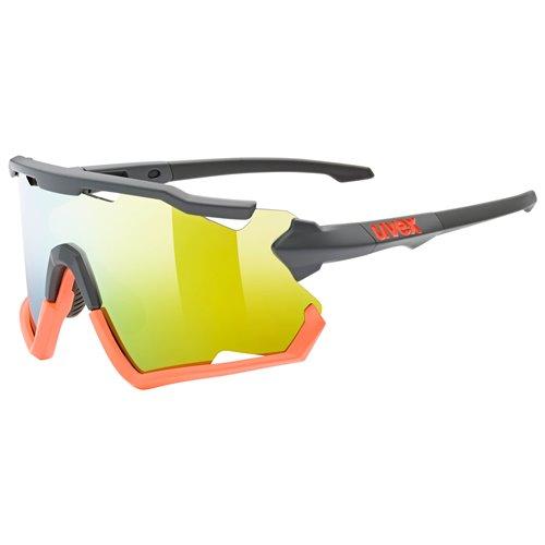 Okulary Uvex Sportstyle 228 grey-orange mat/orange