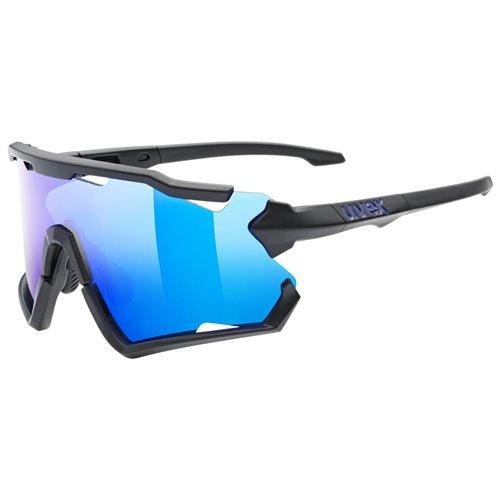 Okulary Uvex Sportstyle 228 black mat / blue