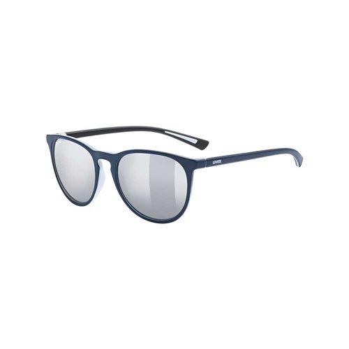 Okulary Uvex Lgl 43 blue matt / litemirror silver