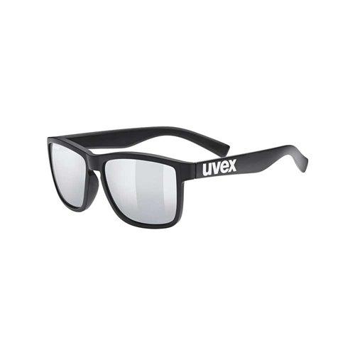 Okulary Uvex lgl 39 black matt/silver