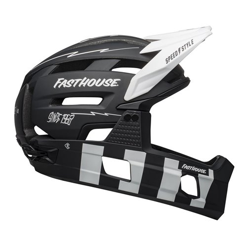 KASK FULL FACE BELL SUPER AIR R MIPS black/white L