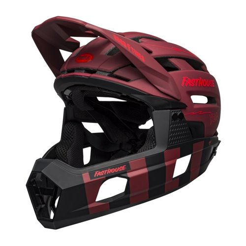 KASK FULL FACE BELL SUPER AIR R MIPS red black M