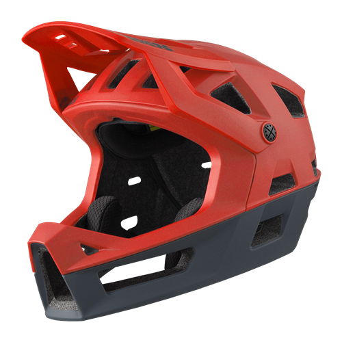 KASK FULL FACE IXS TRIGGER FF FLUO RED M/L