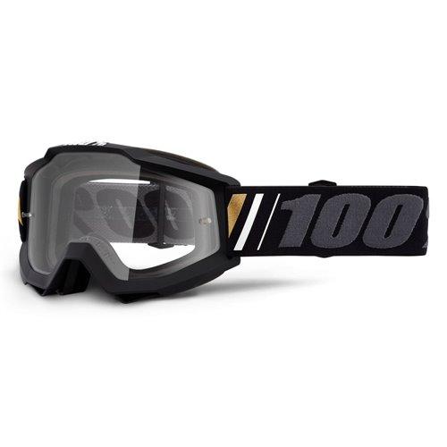 Gogle 100% ACCURI OFF Szyba Przezroczysta Anti-Fog
