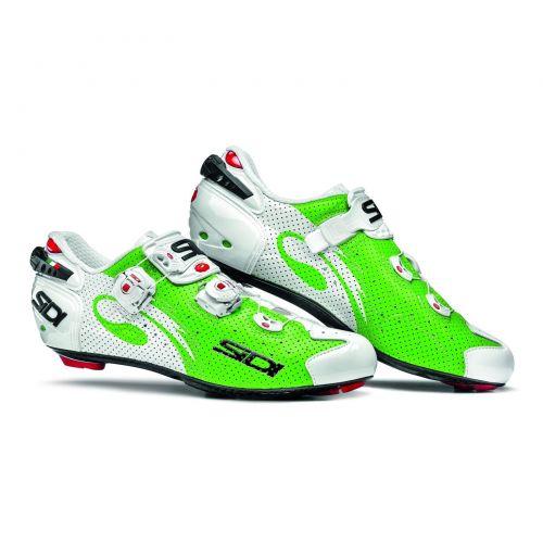 Buty SIDI Szosa WIRE Carbon AIR Zielono-białe 45.5