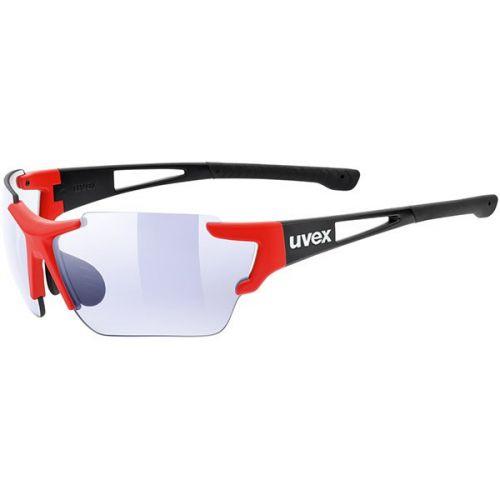 Okulary UVEX SPORTSTYLE 803 RACE VM BLACK/RED